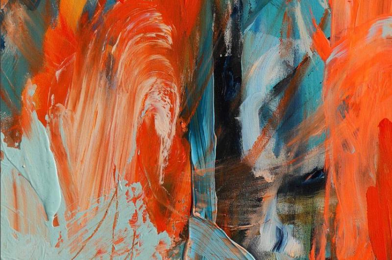 Abstrakte Malerei Farben Soul mining