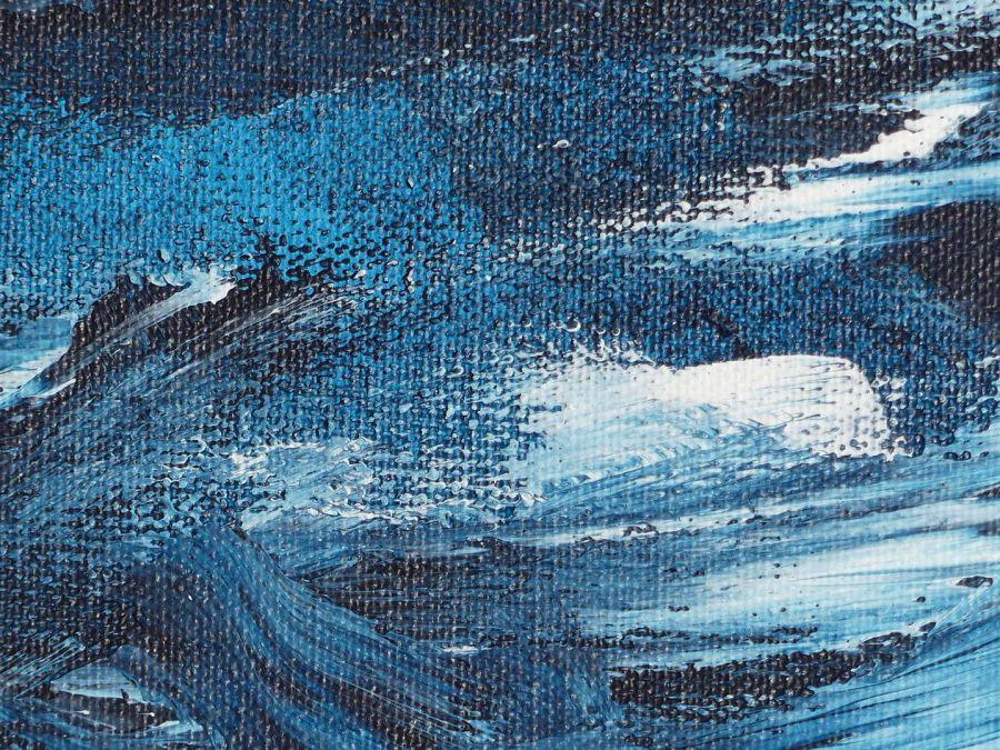 Nicole Kruß Blau Kunst